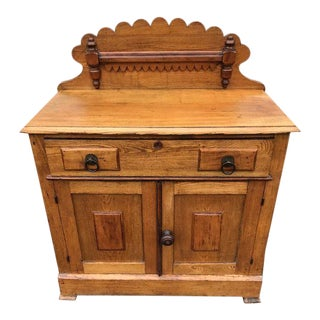 Late 19th Century Antique Eastlake Victorian Washstand For Sale