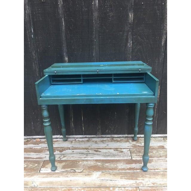 Vintage Secretary Desk For Sale - Image 4 of 13
