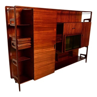 Italian Wall Unit Attributed to Vittorio Dassi For Sale