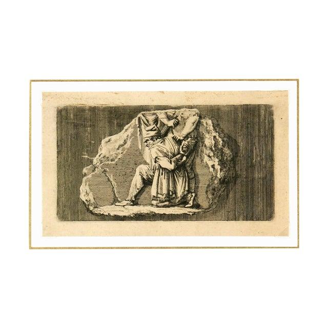 Antiquities Roman Empire Engraving, C. 1750 - Image 1 of 4