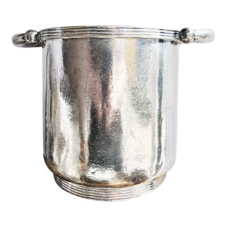 1934 Silver Plated Champagne Bucket From the Mayflower Hotel in Washington DC For Sale