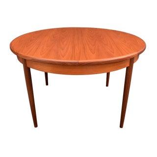 Mid-Century Modern G Plan Teak Dining Table