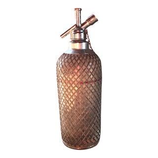 1920s Bar Seltzer Bottle by Sparklet's