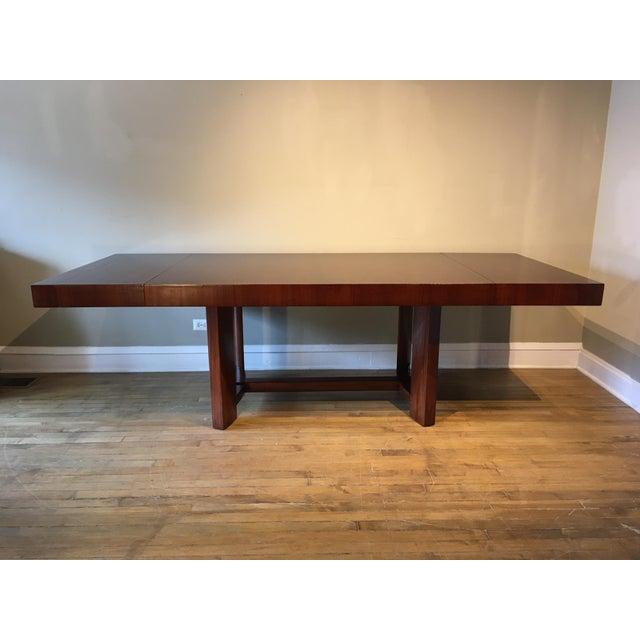 Chestnut Mid-Century Restored Robjohn Gibbings Dining Table For Sale - Image 8 of 8