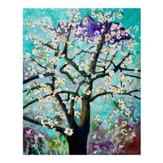 Flowering Apple Tree in the Spring For Sale
