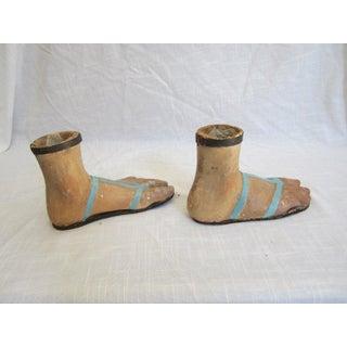 19th Century Papier Mache Feet Preview