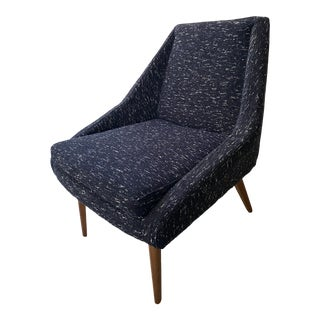 West Elm Parker Slipper Chair For Sale