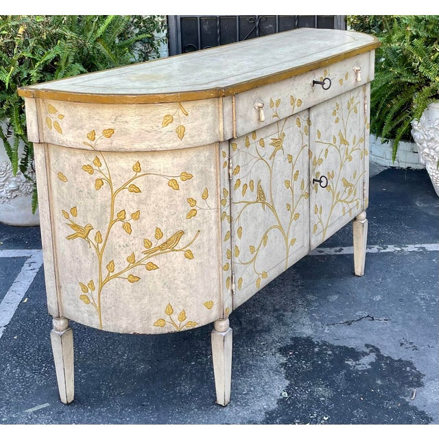 Equator Furniture Company Rustic Painted Sideboard Buffet Credenza Cabinet For Sale In Los Angeles - Image 6 of 8