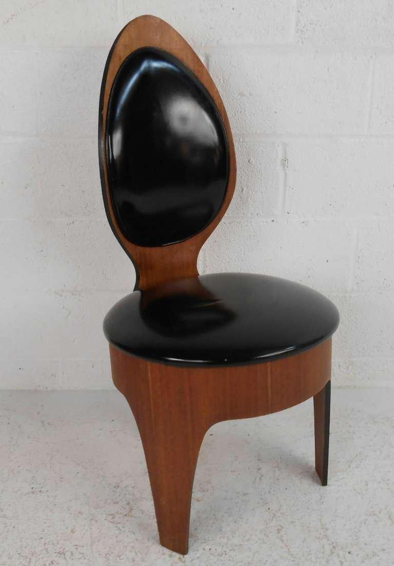Etonnant Mid Century Modern Sculpted Spoon Chairs By Henry P. Glass   Image 3 Of