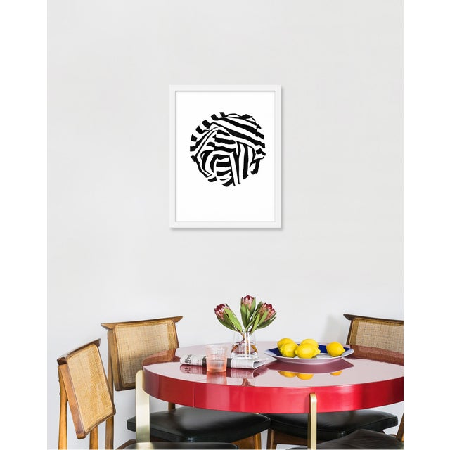 Giclée on textured fine art paper with white frame. Unframed print dimensions: 14.75x18.75. Angela Chrusciaki Blehm is a...