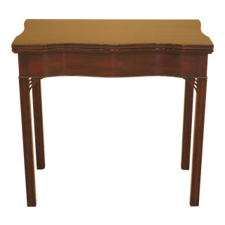 Kittinger Colonial Williamsburg Mahogany Game Table