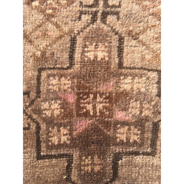 "Vintage Anatolian Turkish Rug - 1'7"" X 2'10"" - Image 5 of 9"