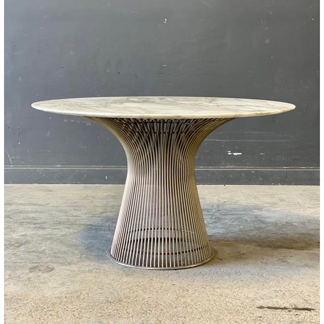 Truly One of the most beautiful marble tables on the market! The grain and color of the marble is outstanding. Heavy Metal...