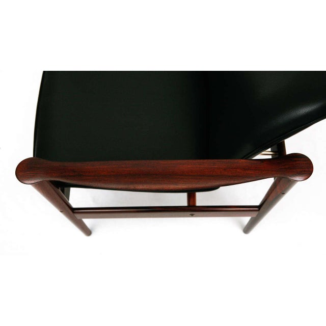Frederik Kayser Rosewood Lounge Chair For Sale - Image 10 of 10