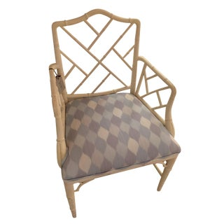 Early 21st Century Schumacher Theodore Chair- Sample For Sale