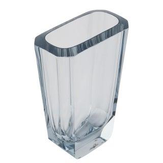 1950's VINTAGE STROMBERGSHYTTAN BLOWN AND CUT GLASS VASE For Sale
