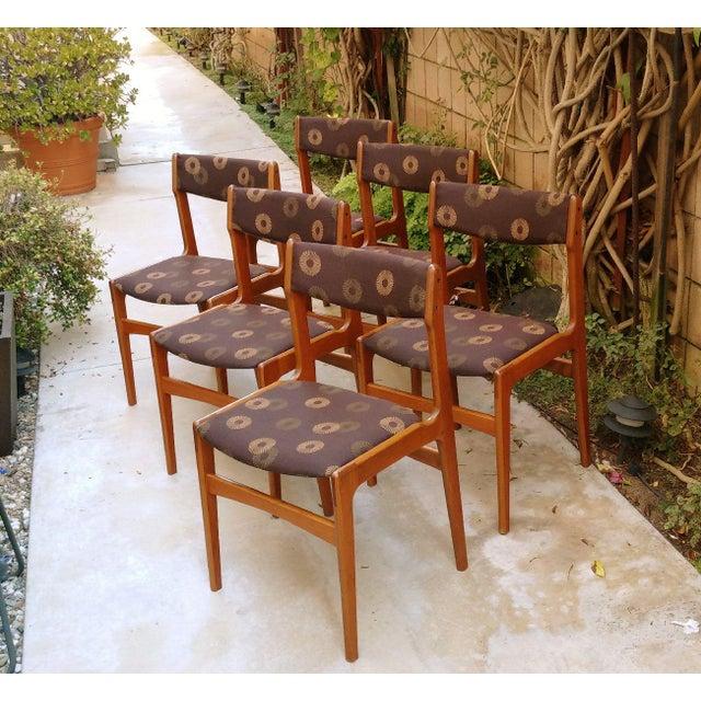 Anderstrup Mobelfabrik Danish Modern Teak Dining Chairs - Set of 6 - Image 6 of 6