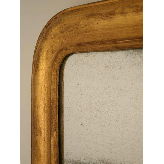 French Louis Philippe Gilt Mirror, Circa 1850 For Sale - Image 4 of 12