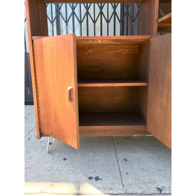 Horner Manufacturing Mid Century Wall Unit - Image 5 of 10