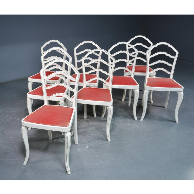 Dining Chairs by Thonet, 1930 - Set of 8 For Sale - Image 9 of 11