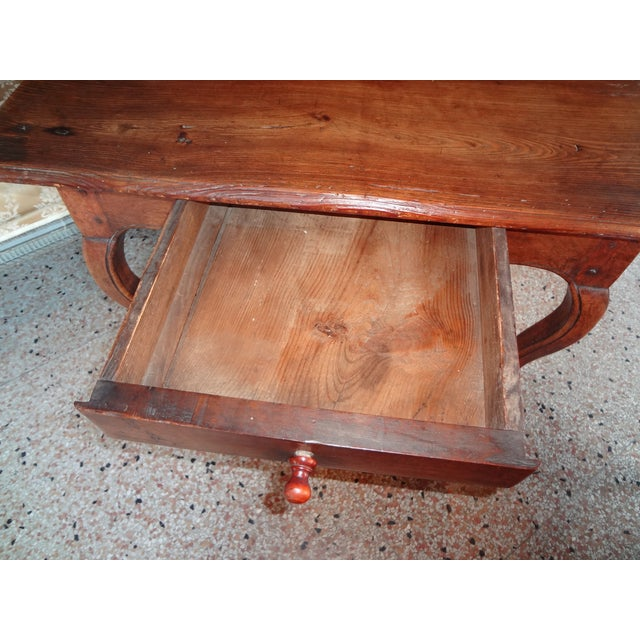 Louis XV Walnut Side Table For Sale In New Orleans - Image 6 of 11