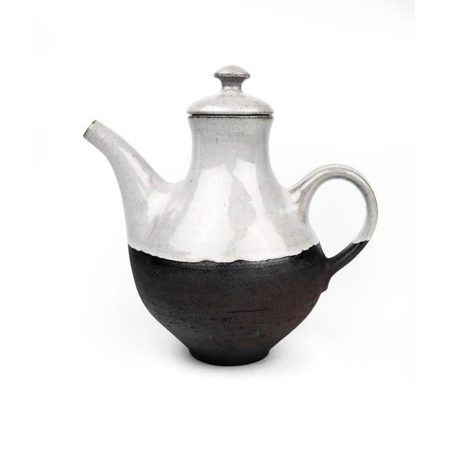 Black Danish Modern Ditlev Ceramic Tea Pot For Sale - Image 8 of 8