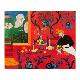 """1994 Henri Matisse """"Harmony in Red"""" First Edition Poster For Sale"""