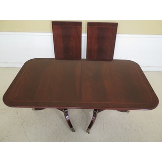 Traditional Henkel Harris Flame Mahogany Model Dining Table Preview
