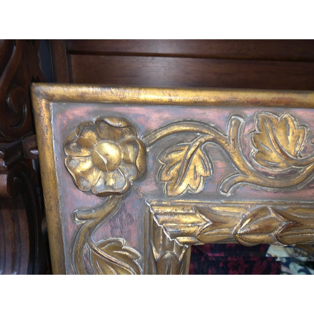 French Dauphine Harrison & Gil Mirror For Sale - Image 3 of 7