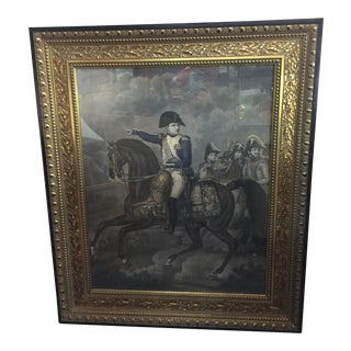 Antique Napoleon Aquatint Engraving For Sale