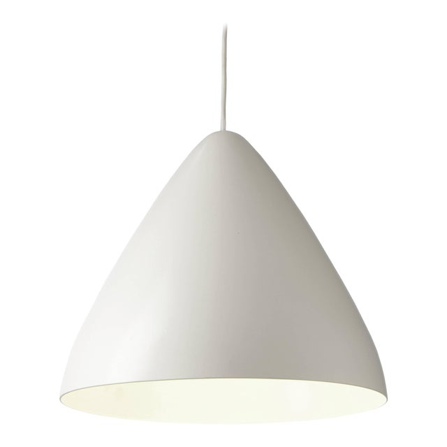 Lisa Johansson-Pape '1957' White Pendant for Innolux Oy For Sale