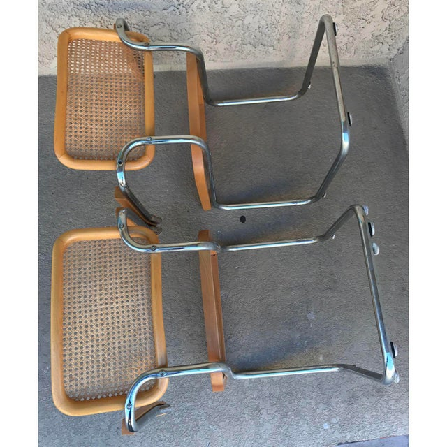 Classic Mid-Century Cesca Chairs - A Pair - Image 5 of 6