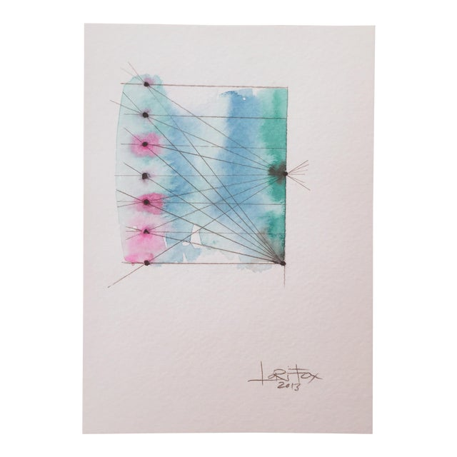 """""""Connected"""" Watercolor Painting - Image 1 of 6"""