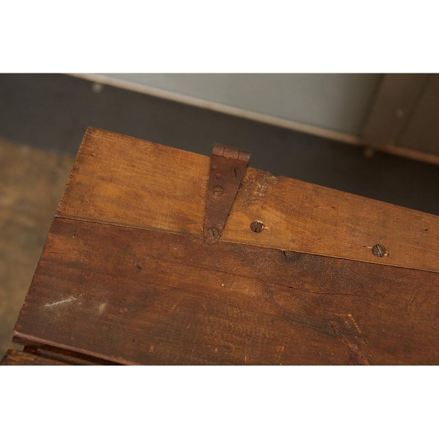 Large Crate with Advertising For Sale - Image 4 of 8