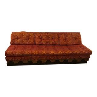 Vintage Mid Century Modern Modular Sofa