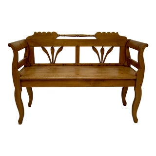 Pine Bench or Settle For Sale