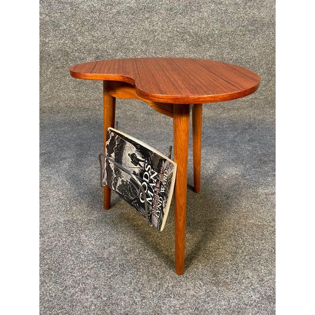 """Vintage Danish Mid Century Modern """"Gorm"""" Side Table by Edmund Jørgensen For Sale - Image 4 of 9"""