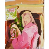 Image of Nightcap Painting For Sale