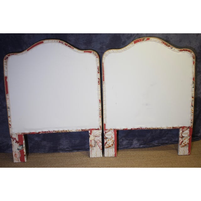 Illustration Nautical Twin Size Headboards - a Pair For Sale - Image 3 of 7