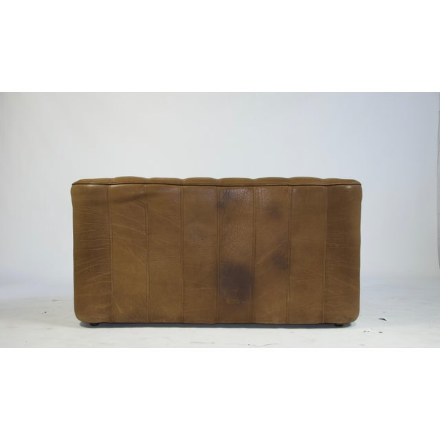 Leather De Sede Ds44 Leather Sofa For Sale - Image 7 of 8