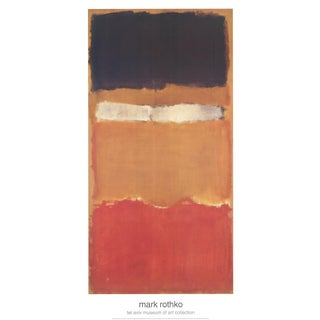 Mark Rothko, Untitled, Offset Lithograph For Sale