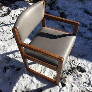 Danish-Modern Oak Box Chairs - a Pair Preview