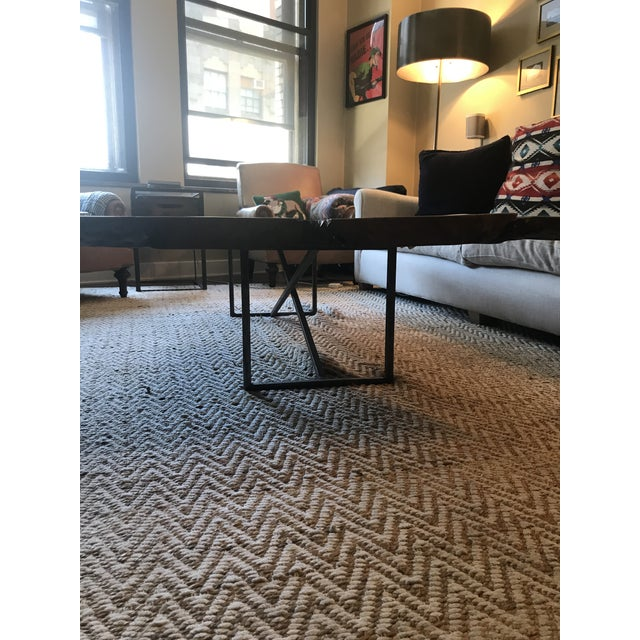 2000s ABC Home Reclaimed Wood Coffee Table For Sale - Image 5 of 8