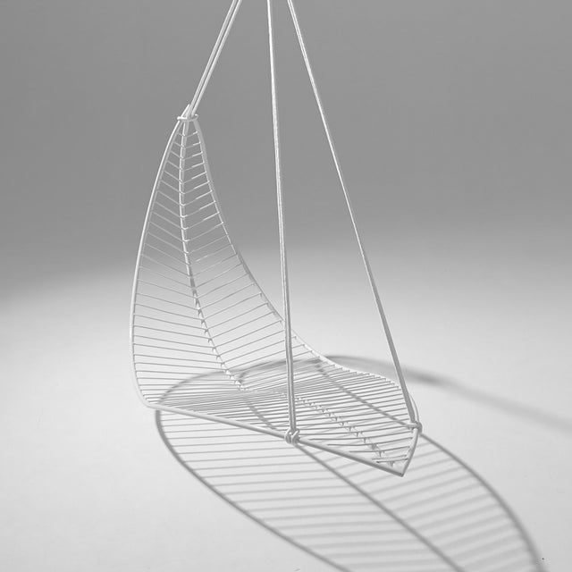 The LEAF hanging swing chair is fluid and organic. The chair is inspired by nature and is reminiscent of organic leaf...