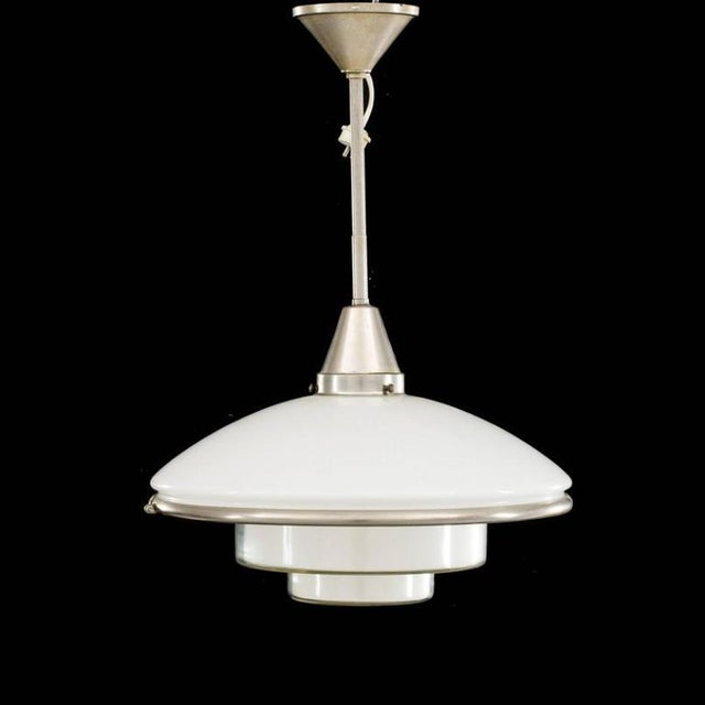 Mid-Century Modern Sistrah P4 Hanging Lamp by Otto Müller For Sale - Image 3 of 4