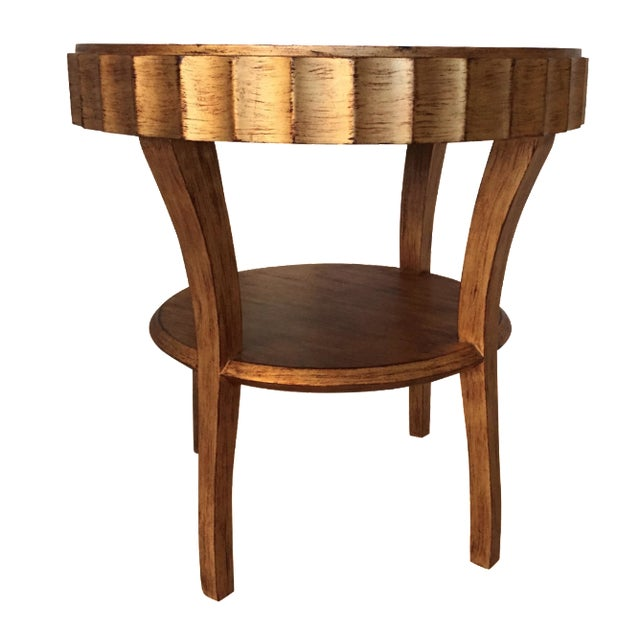 Stylish Gold Accent Table - Image 1 of 6