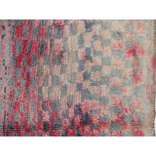 Boho Chic Berber Rug For Sale - Image 3 of 5