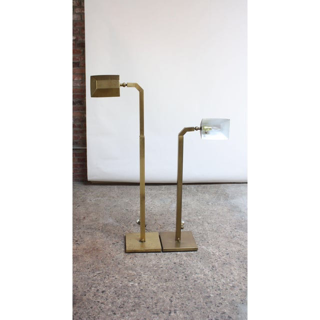 These floor lamps were designed by Chapman in the 1970s, combining Industrial and Modern Design. Composed entirely of...