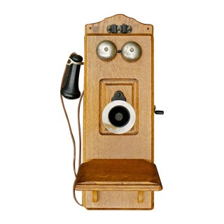 19th Century Vintage Kellogg Wall Phone For Sale