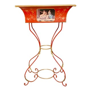 Neo-Classical Style Tole Planter Jardiniere For Sale